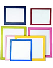 Colour Photo Frame (Large 30mm), A4,A3,A2 and A1size, 15 Bright Colors Available