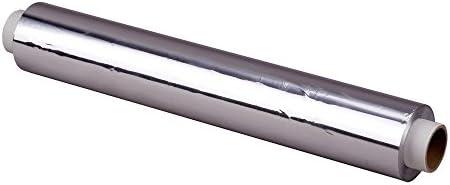 4x Alufolie, Nachfüllrollen, extra stark, 18 my stark, 45 cm x 150 m