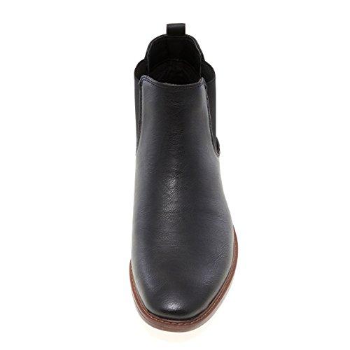 J75 Av Hopp Män Pietro Vanligt Tå Pådrags Chelsea Boot Svart