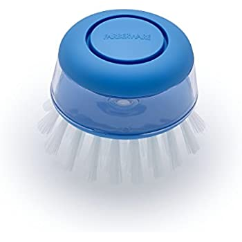Amazon Com Farberware Soap Dispensing Palm Brush Blue