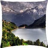 DOWN IN THE VALLEY - Throw Pillow Cover Case (18