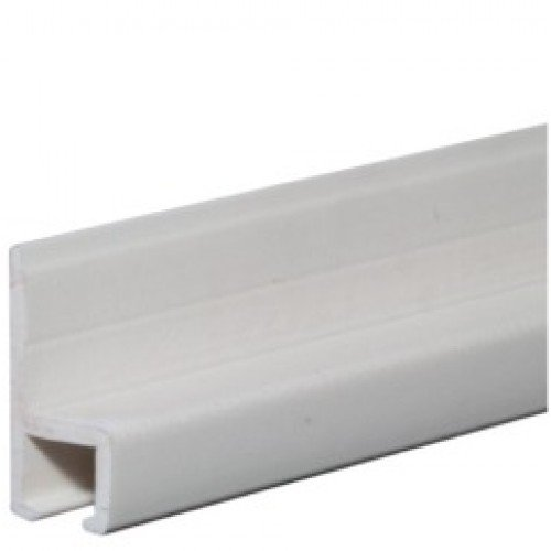 RECMAR Plastic Curtain Track - 8 Feet - White