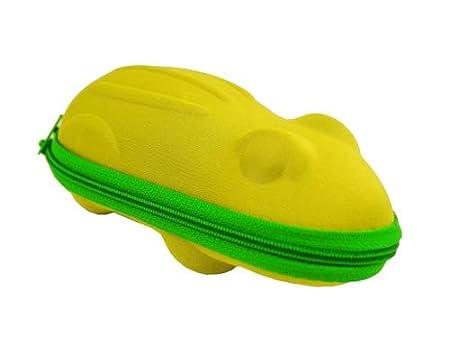 Custodia per occhiali a forma di rana e ippopotami in diversi colori