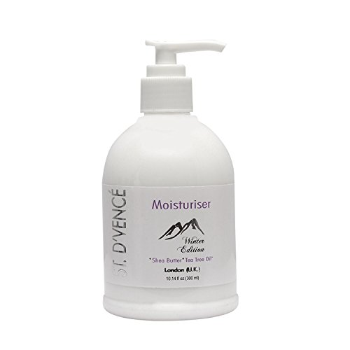 ST. D'VENCÉ Body Moisturiser (Winter Edition) for Dry to Very Dry Skin enriched with Pure Australian Tea Tree Oil, French Shea Butter, Jojoba Oil, Almond Oil, Italian Olive Oil, Aloe Vera & Milk Protein for Ultimate Nourished and Healthy Skin – London (U.K)