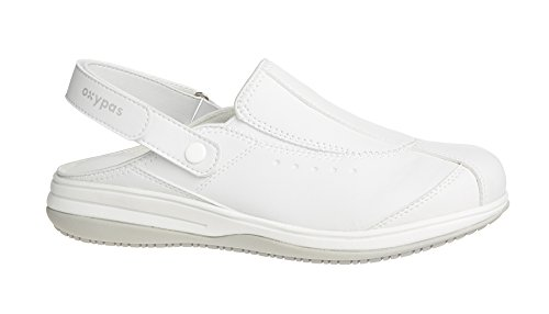 Oxypas Iris, Women's Safety Shoes, White (Wht), 4 UK (37 EU)