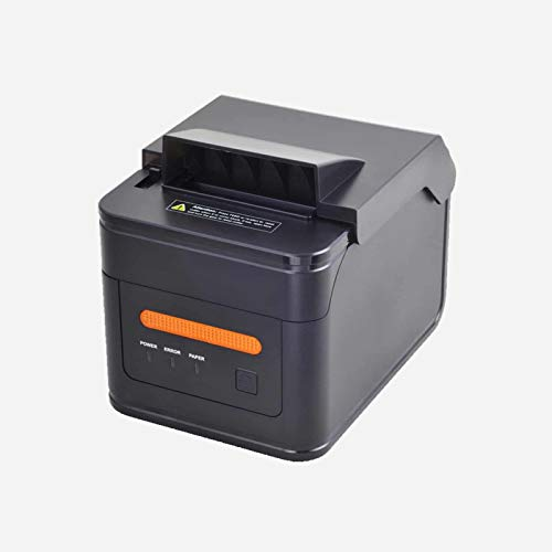 POSTRON 80MM Thermal Receipt Kitchen Printer USB H300L LAN 2048KB Bytes to Avoid Order Missing ESC/POS With Order Reminder Waterproof Oilproof ()