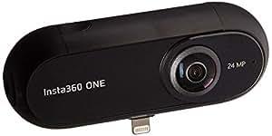 Insta360 ONE Cámara 360, Videocámara de acción VR, 24 MP (7K) Fotos, 4K Vídeos para iPhone X, iPhone 8 series, iPhone 7 series, iPhone 6 series