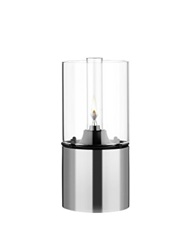 Stelton 1005 Classic Oil Lamp Stainless and Clear Glass ()