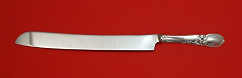 White Orchid by Community Plate Silverplate HHWS Wedding Cake Knife Custom Made