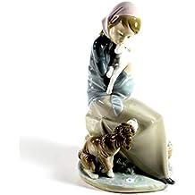 "Lladro ""Jealousy"" Collectible Figurine #1278 Retired Glazed Finish"