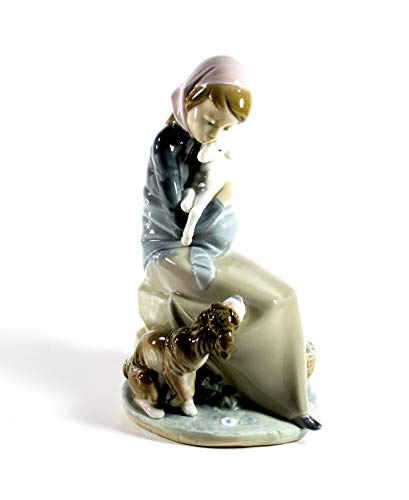 "Lladro ""Jealousy"" Collectible Figurine #1278 Retired Glazed Finish"