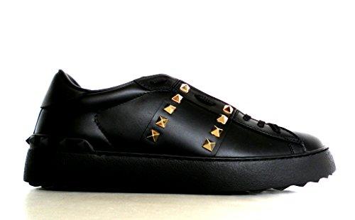 Baskets Valentino Noir Femme Noir pour Garavani O4qHx45