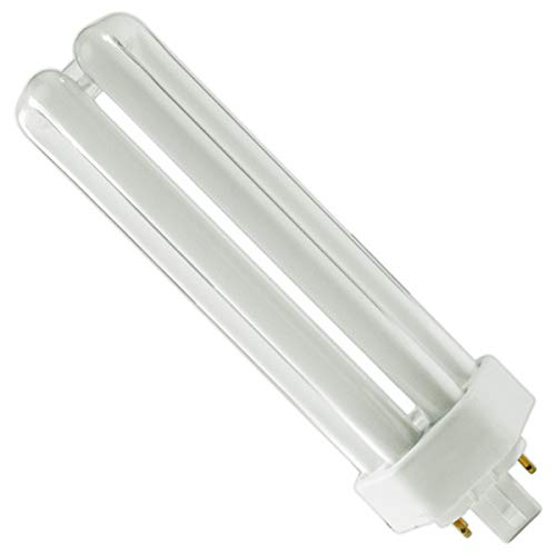 - (6 Pack) PLT-42W 841, 4 Pin GX24Q-4, 42 Watt Triple Tube, Compact Fluorescent Light Bulb
