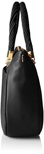 Klein Shoulder Black Bag Gold Calvin Pinnacle Shopper wqdOnnPp1