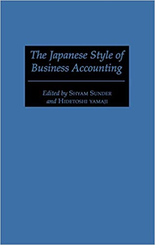 The Japanese Style of Business Accounting