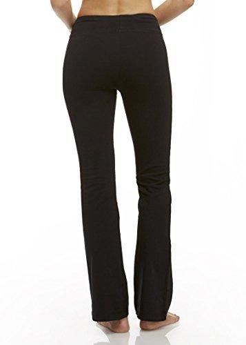 Marika Women's Tummy Control Pants - Power Mesh-Lined - Bootcut Leg Opening