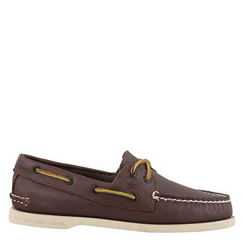 Sperry Top-Sider Men's Authentic Original Lace-Up,Classic Brown,9 XW US