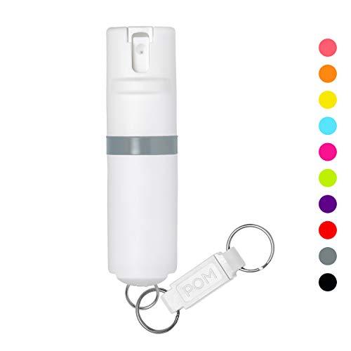 POM White Pepper Spray Keychain Model