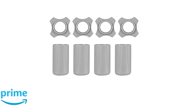 uxcell Wireless Handheld Microphone Protective Rubber Anti-Rolling Slip Holder with Bottom Rod Sleeve Holder Grey