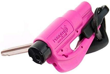 2 in 1 colore: rosa Strumento di sicurezza con portachiavi RESQ ME 98730