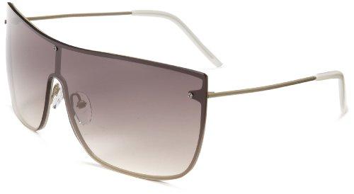 3.1 Phillip Lim Jean Marie Shield Sunglasses,Khaki,51 - 3.1 Lim Phillip Sunglasses
