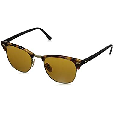 35edb8ea60c Ray Ban Sunglasses Orb Silver. Ray-Ban CLUBMASTER - SPOTTED BROWN HAVANA  Frame BROWN Lenses 51mm Non-Polarized
