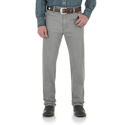 - Wrangler Men's Cowboy Cut Slim Fit Jean, Smoke Storm, 32W x 34L