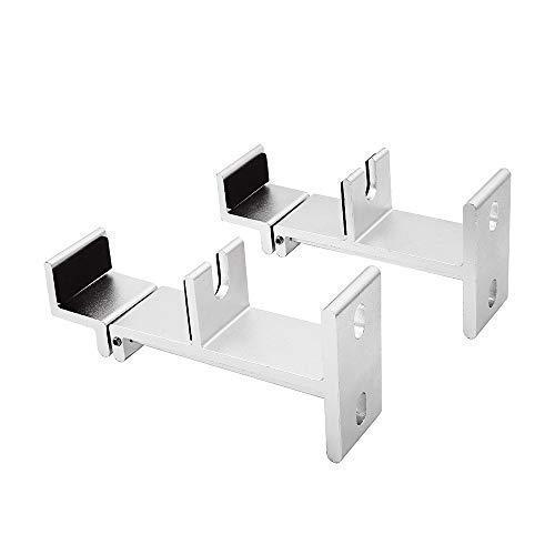 Universal Soundbar Mount staffa di montaggio a parete per la maggior parte delle TV Sound Bar, regolabile e allungabile, lunghezza EXCEL LIFE ELBB-01B