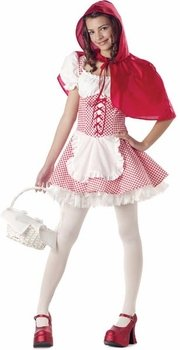 Teen Little Red Riding Hood Costumes - Teen Little Red Riding Hood Halloween Costume (Teen 3-5)