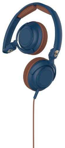 Skullcandy Lowrider Navy/Brown/Copper On Ear Headphones