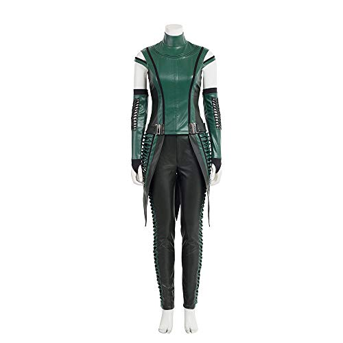 GOTEDDY Halloween Cosplay Mantis Outfit Leather Costume (XXL) -