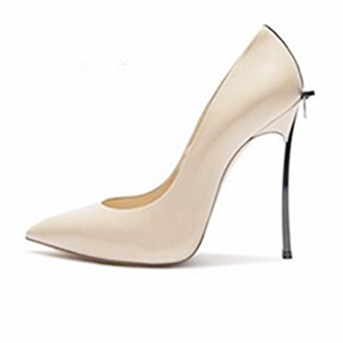 Zapatos de Tacón Alto con Zapatos Sex Puntiagudos Femeninos Mi