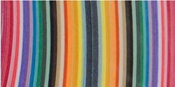 Bulk Buy: Lake City Craft Quilling Paper 3/8'' 100/Pkg 25 Colors Q352 (3-Pack) by LAKE CITY CRAFT
