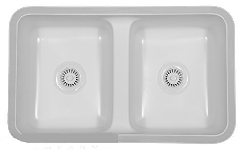 Karran Undermount Acrylic Sinks : Newport - White by Karran USA by Karran USA