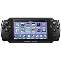 """Ae zone PSP Console 4.3"""" Screen Inbuilt Games With Free 8GB Memory Card,Black"""