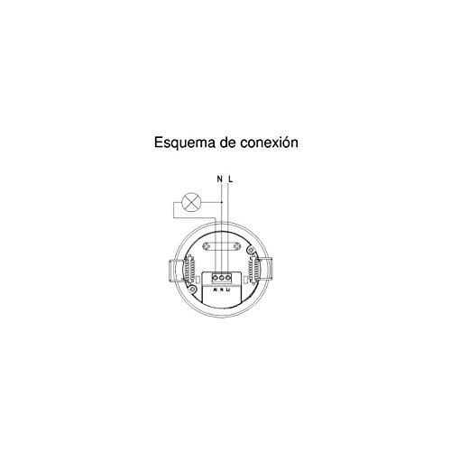 Detector de Movimiento Techo EFILUX 360 FT: Amazon.es: Bricolaje y herramientas