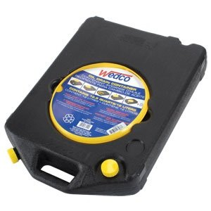 Wedco Recycle Oil / Coolant Drain Pan Plastic 12.5 Quart With Funnel