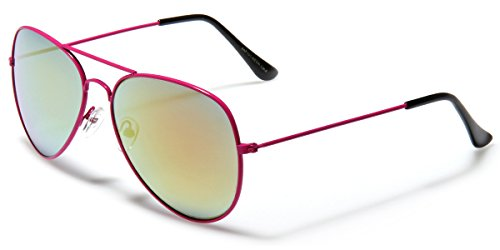 Neon Frame Original Aviator Style Sunglasses (Neon Aviator Sunglasses)