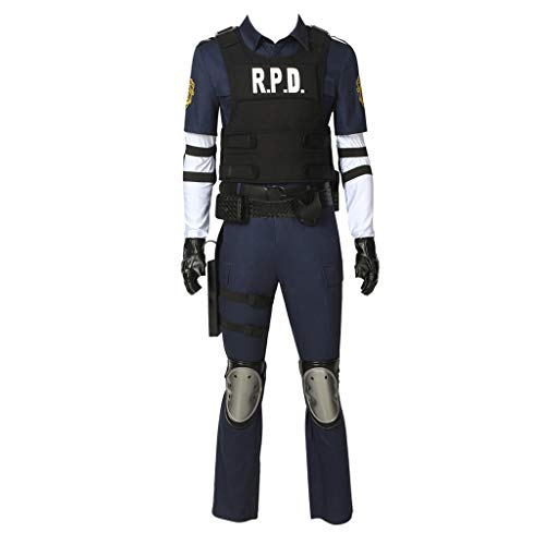 CosplayDiy Men'Suit for Resident Evil 2 Leon