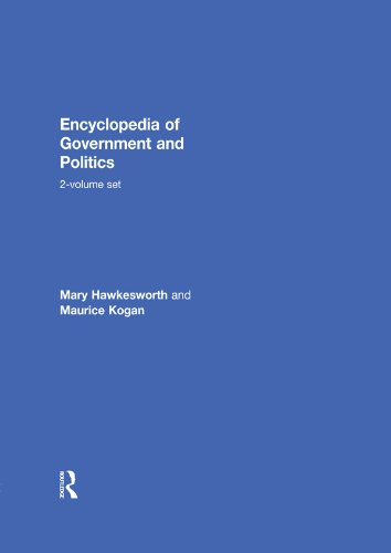 Download Encyclopedia of Government and Politics: 2-volume set Pdf
