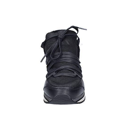 Crime Sneakers London Negro Mujer Cuero gnAqRwaZ