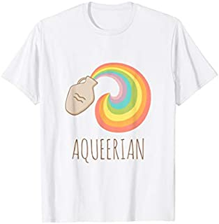 [Featured] Aqueerian LGBT Aquarius Horoscope Gay Lesbian Pride in ALL styles | Size S - 5XL