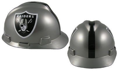 Safety Works NFL Hard Hat, Oakland Raiders