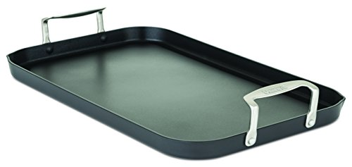 Viking 40051-1218 Hard Anodized Nonstick Double Burner Gridd