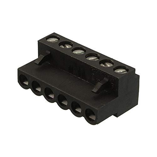 TERM BLOCK PLUG 6POS STR 5.08MM (Pack of 10)