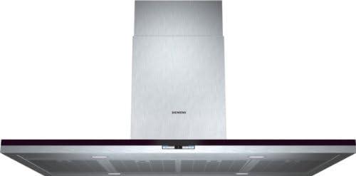 Siemens LF28BC542 - Campana (Canalizado/Recirculación, 870 m³/h, 360 m³/h, Montado en pared, LED, 791 Lux) Acero inoxidable: 1176.62: Amazon.es: Grandes electrodomésticos