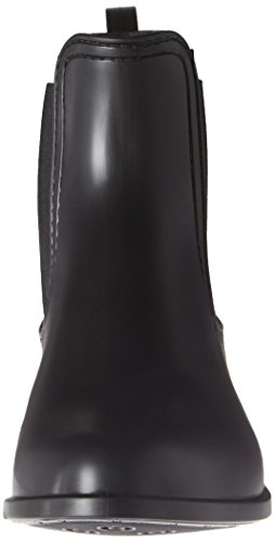 Chelsea Schwarz Jelly Boots Femme Lemon Splash Matte ZEU1qwanx