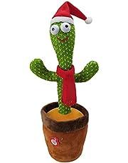 Dancing cactus Twisting cactus with recording/talking/dancing/singing/lighting plush toys for kids..