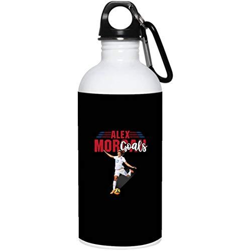 Alex Morgan More Goals 13 National Football Team T-Shirt (20 oz. Stainless Steel Water Bottle; Black; One Size) (Alex Morgan Best Goals)