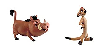 Bullyland Timon 12533 and Pumbaa 12534 Disney Lion King Playset